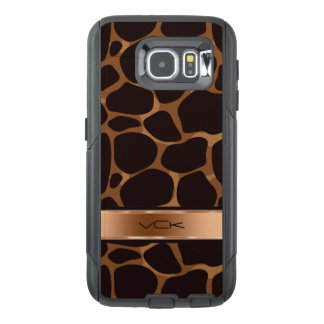 Tons & impressão de cobre metálicos do leopardo de