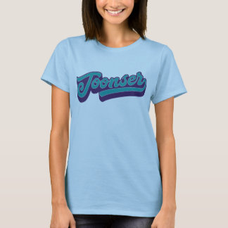 Toonser, camiseta Doric do dialecto