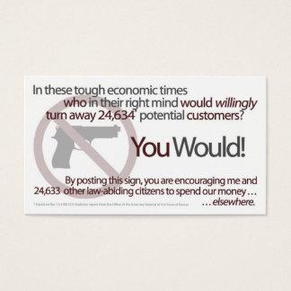 Topeka nenhumas armas, nenhuns cartões do dinheiro