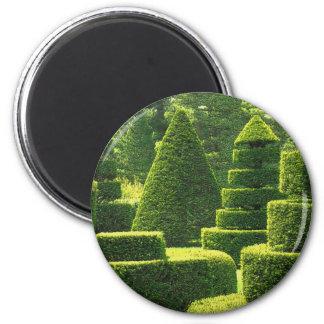 Topiary verde - ímã #2 ímã redondo 5.08cm
