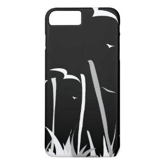 Toque de bambu o céu [preto] capa iPhone 7 plus