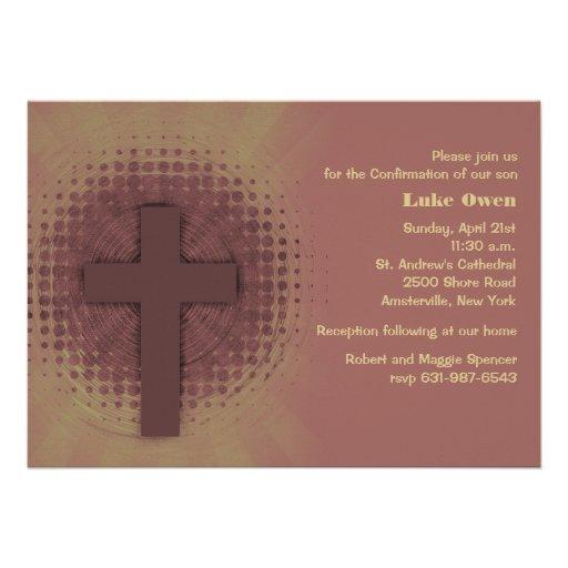 Toque do convite religioso do deus