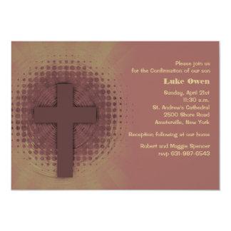 Toque do convite religioso do deus convite 12.7 x 17.78cm
