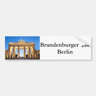 Tor Berlim de Brandenburger Adesivo De Para-choque