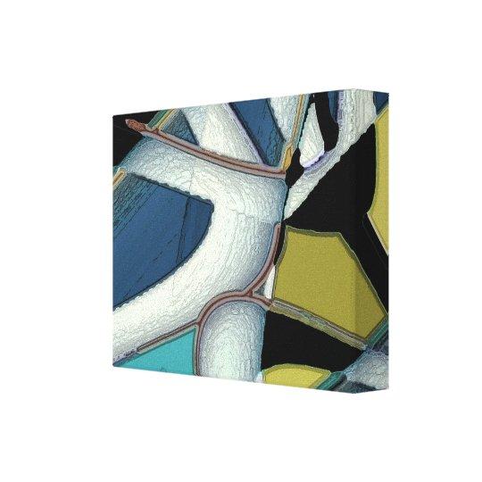 Torção - abstrato 32 impressão em tela