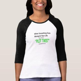 Torção do lote camiseta