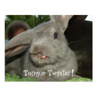 Tornado de língua! cartão de |
