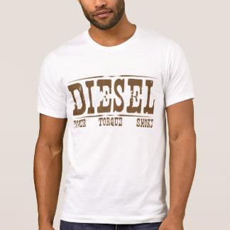 Torque diesel & fumo do poder camisetas