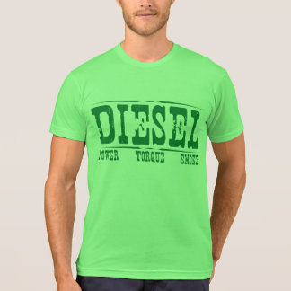 Torque diesel & fumo do poder tshirts
