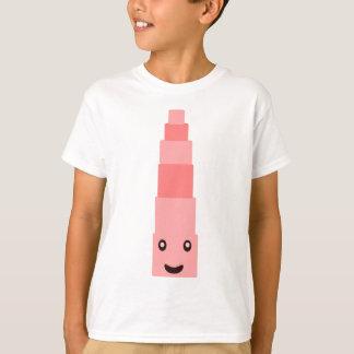 Torre cor-de-rosa 7,7 de Monterssori Tshirt