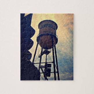 Torre de água 8 x de Campbell quebra-cabeça 10