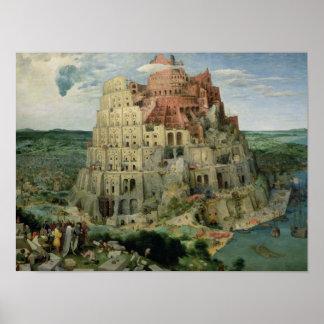 Torre de Babel Posters