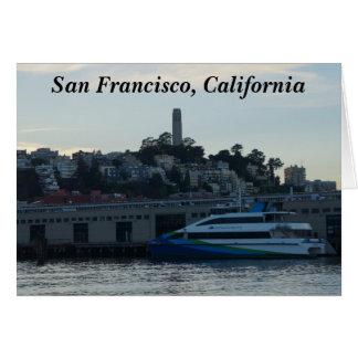 Torre de Coit, cartão de San Francisco #4