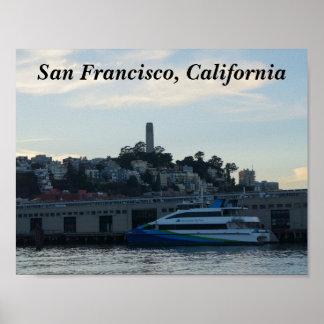 Torre de Coit, poster de San Francisco #4
