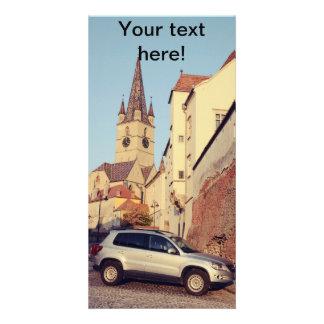 Torre de igreja evangélica cartoes com foto
