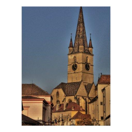Torre de igreja evangélica convites
