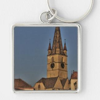Torre de igreja evangélica chaveiro