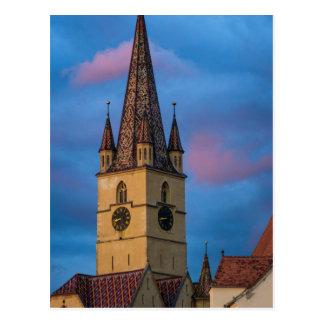 Torre de igreja evangélica, Sibiu