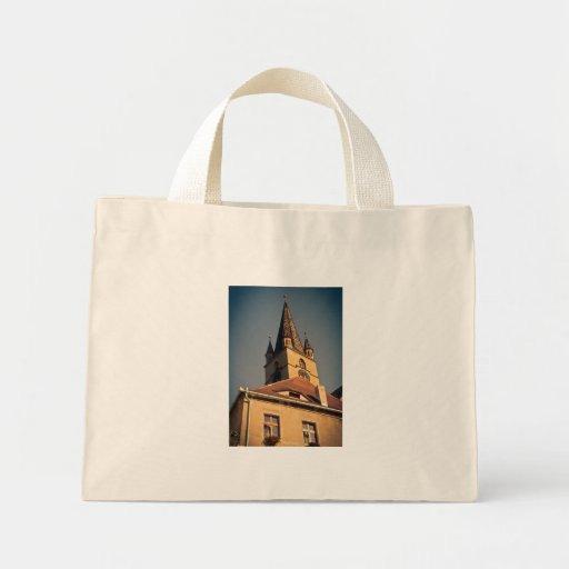 Torre de igreja evangélica, Sibiu Bolsa Para Compras