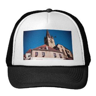 Torre de igreja evangélica Sibiu Boné