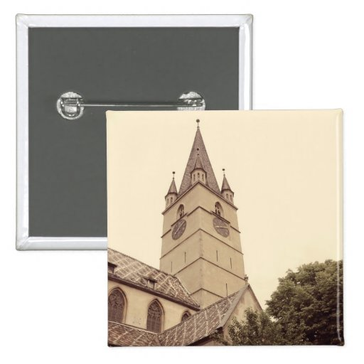 Torre de igreja evangélica, Sibiu Botons