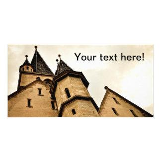 Torre de igreja evangélica Sibiu Cartão Com Fotos