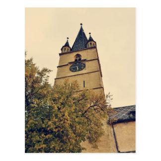 Torre de igreja evangélica, Sibiu Cartões Postais