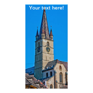 Torre de igreja evangélica Sibiu Cartoes Com Fotos