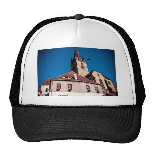 Torre de igreja evangélica, Sibiu Boné