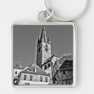 Torre de igreja evangélica Sibiu Chaveiros