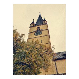 Torre de igreja evangélica, Sibiu Convite