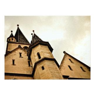 Torre de igreja evangélica, Sibiu Convites Personalizados