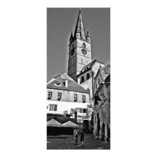 Torre de igreja evangélica, Sibiu Modelos De Panfletos Informativos