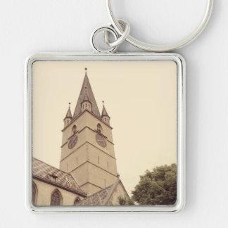 Torre de igreja evangélica, Sibiu Chaveiros