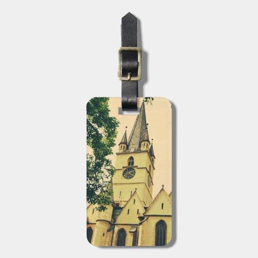 Torre de igreja evangélica, Sibiu Tag Para Mala