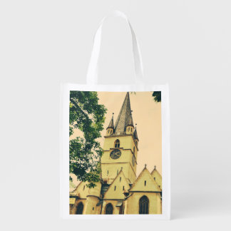 Torre de igreja evangélica, Sibiu Sacolas Ecológicas Para Supermercado