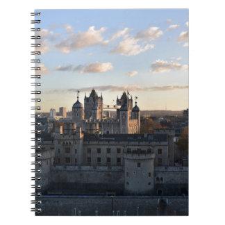 Torre de Londres Caderno