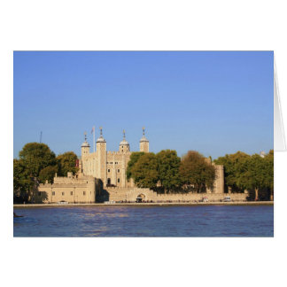 Torre de Londres Cartão Comemorativo