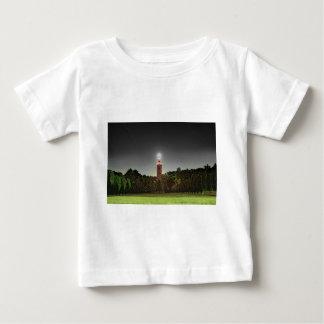 Torre do cemitério camiseta para bebê