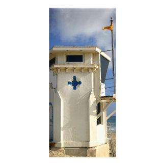 Torre do Lifeguard 10.16 X 22.86cm Panfleto