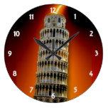 Torre do pulso de disparo de parede de Pisa Relógios Para Paredes