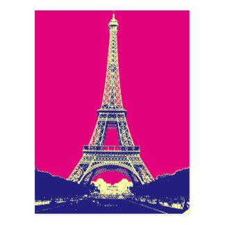 Torre Eiffel 2 Cartão Postal