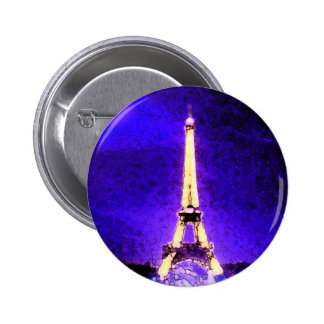 Torre Eiffel Bóton Redondo 5.08cm