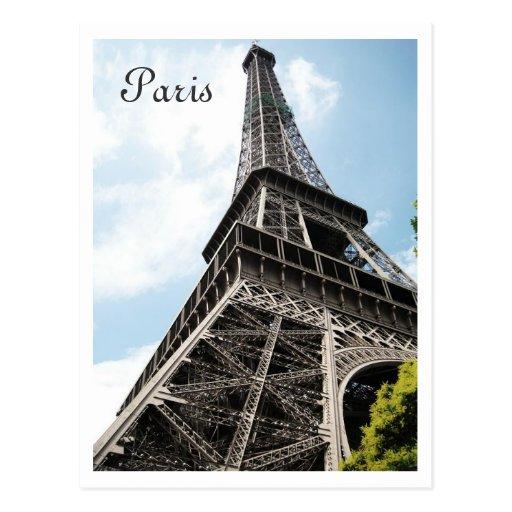 Torre Eiffel Cartao Postal