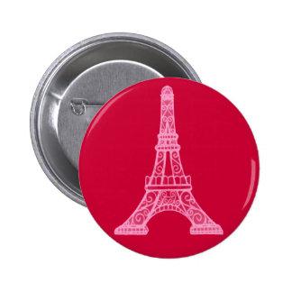 Torre Eiffel cor-de-rosa Boton