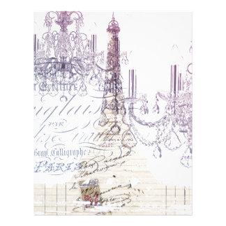 torre Eiffel feminino moderna de Paris do Modelos De Papel De Carta