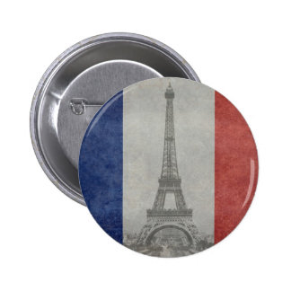 Torre Eiffel Paris France Boton