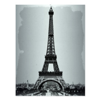 Torre Eiffel Paris France Cartão Postal