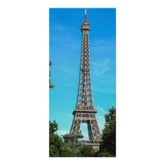 Torre Eiffel, Paris 10.16 X 22.86cm Panfleto