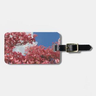 Torrente das flores etiqueta de bagagem